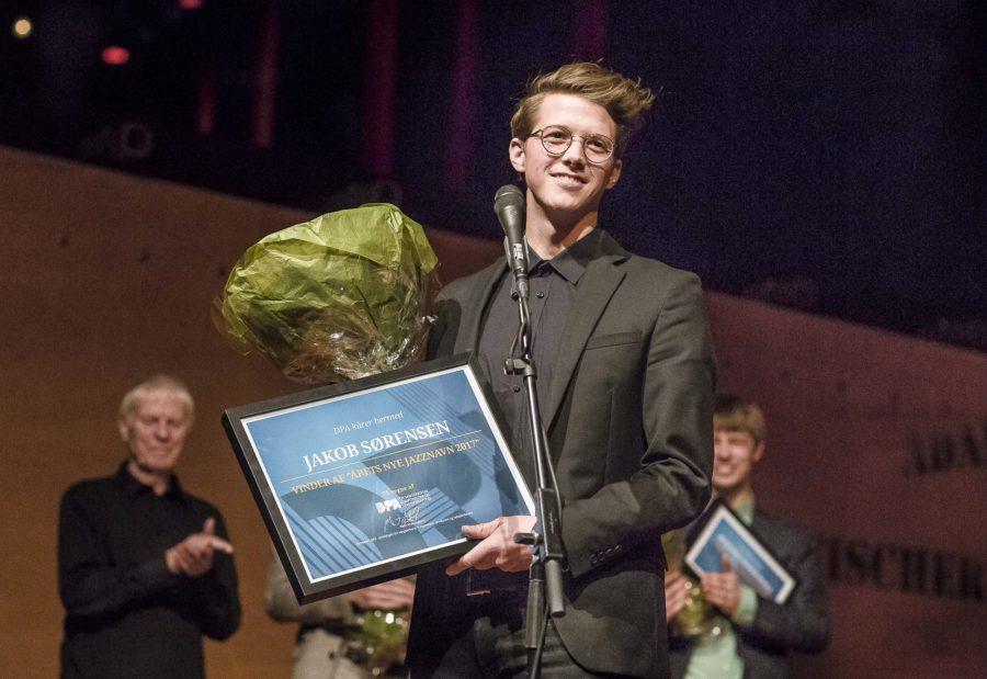 Vinderen af DPA's jazzkonkurrence i 2017 Jakob Sørensen